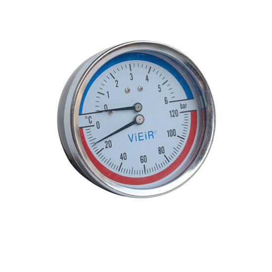 Термоманометр аксиальный Vieir