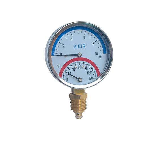 Термоманометр радиальный Vieir