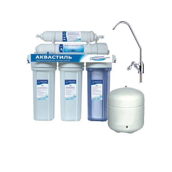 Фильтр «Classic» пятиступенчатый с обратным осмосом и бачком, для питьевой воды аквастиль
