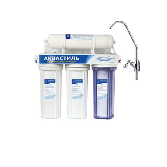 Фильтр «Classic» четырехступенчатый со сменными картриджами, для питьевой воды Авкастиль