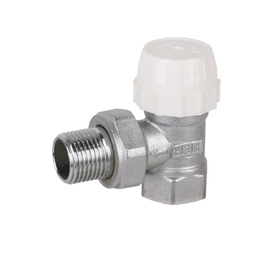 Ventil termostaticheskij uglovoj verhnij, VR28-Vieir