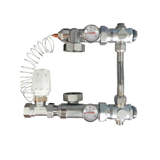 Насосно-смесительный узел для теплого пола, VR206-Vieir