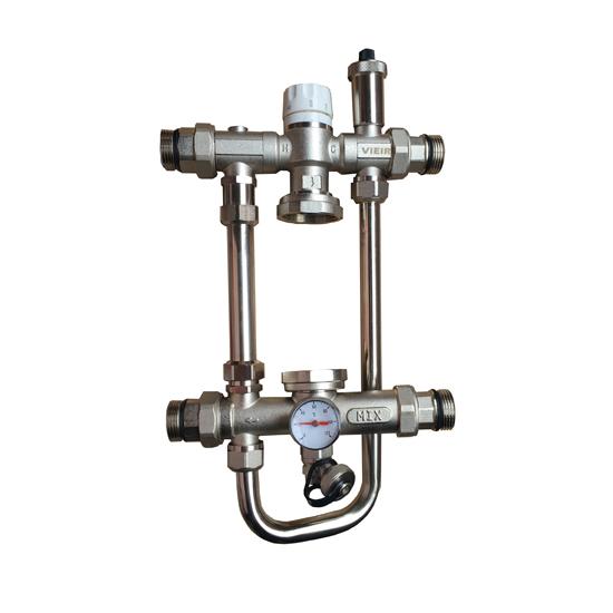 Насосно-смесительный узел для теплого пола, VR207-Vieir