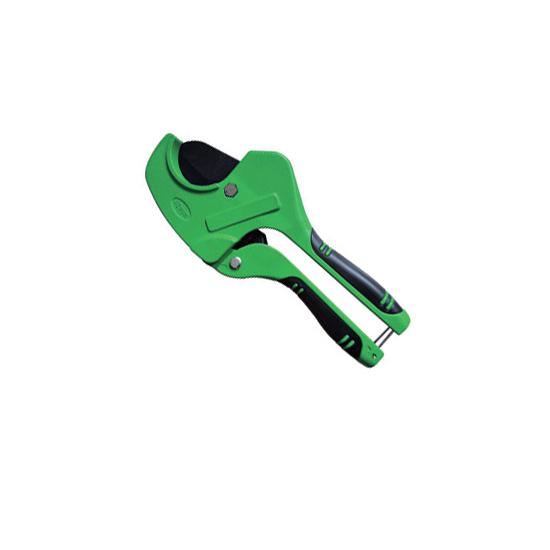 Ножницы зеленые со съёмным лезвием для пластиковых труб, VER815 Vieir