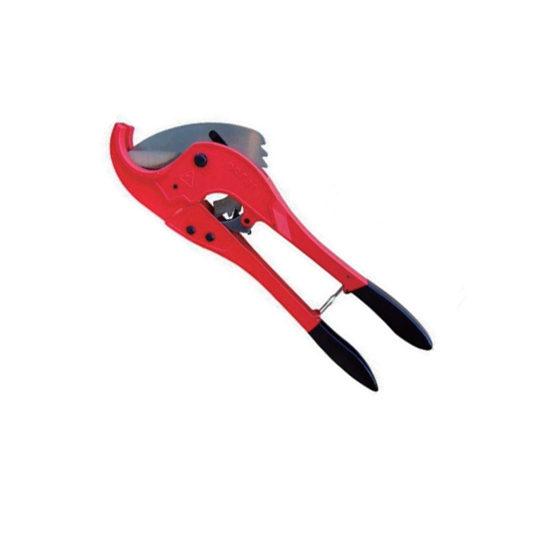 Ножницы красные для пластиковых труб, VER801 Vieir
