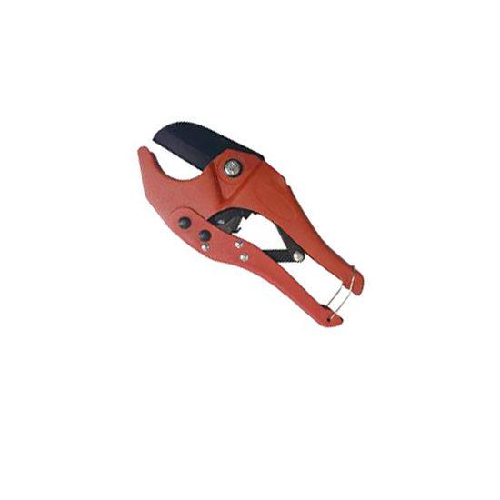 Ножницы красные маленькие для пластиковых труб, VER807 Vieir
