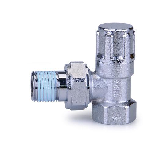 Регулировочный вентиль угловой нижний 1-2 LUX, Vieir
