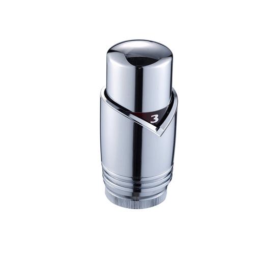 Термоголовка жидкостная хромированная, VR289А-Vieir