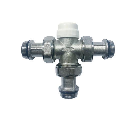 Термостатический трёхходовой разделительный клапан, VR18-Vieir