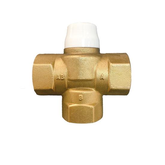 Термостатический трёхходовой смесительный клапан, VR291-Vieir