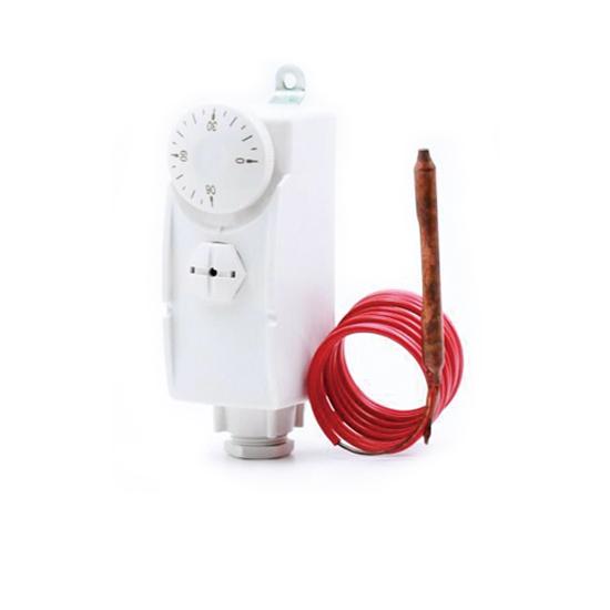Термостат с капиллярной трубкой и погружным датчиком, VR332- Vieir