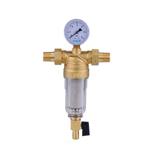 Фильтр с манометром для холодной воды, JH15-Vieir